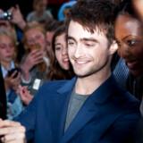 Arkivfoto: Den britiske filmstjerne Daniel Radcliffe er i Danmark for at promovere sin nye film What If. Det foregår i København i biografen Imperial.