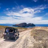 En jeepsafari tager kun ganske få timer på Porto Santo. Perfekt til både voksne og børns tålmodighed.