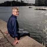Overborgmester i København Frank Jensen (S) bruger meget tid på Islands Brygge, hvor han bor. Frank Jensen finder ro på vandet og i byens hengemte oaser.