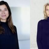 Nana Bule (til venstre) overtager 1. juli ansvaret for Microsoft i Danmark efter Marianne Dahl Steensen. Fotos: Microsoft