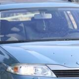 Ofrene befandt sig i en denne bil, da de blev skudt den 25. juni i Herlev.