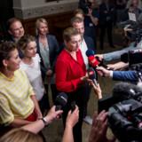 I de afgørende forhandlinger, der skulle gøre Mette Frederiksen til statsminister, fik hun til sidst nok af en af de radikale forhandlere og hævede stemmen.