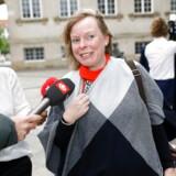 Kulturminister Joy Mogensen ankom torsdag til møde i Statsministeriet, inden turen gik til Amalienborg, hvor statsminister Mette Frederiksen præsenterede sin nye regering for Dronningen.