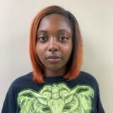Marshae Jones var gravid og burde vide bedre end at bringe sig i en situation, hvor hun kunne blive skudt i maven, mente politiet. Foto offentliggjort af politiet i Pleasant Grove i Alabama efter anholdelsen.