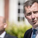 Justitsminister Nick Hækkerup kunne tirsdag åbne op for, at den store teledatasag kan være endnu større end først antaget. Mads Claus Rasmussen/Ritzau Scanpix