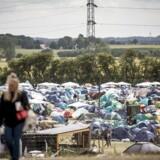 Roskilde Festival bliver det første sted i Danmark, hvor 3G-nettet nu bliver delvis lukket ned for at give bedre plads til især data på 4G-nettet. Foto: Mads Claus Rasmussen, Ritzau Scanpix