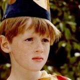 Da Bjarne Reuter var barn, var han ivrig tryllekunstner. Og ligesom Buster Oregon Mortensen i forfatterens elskede »Busters verden« skabte den unge Reuter en masse furore med sine rekvisitter. Arkivfoto: DR