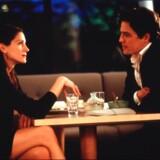 Julia Roberts og Hugh Grant på date i »Notting Hill« fra 1999, der blev den bedst sælgende britiske film i historien og gjorde kvarteret til en gigantisk turistattraktion. Den kendte japanske restaurant Nobu ligger der endnu.