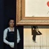 Det vakte opsigt, da værket »Girl with Baloon« af den anonyme britiske kunstner Bansky sidste år makulerede sig selv under en auktion på auktionshuset Sotheby's.