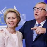 Den afgående kommissionsformand, Jean-Claude Juncker, er ved at gøre klar til at forlade formandskontoret på 13. sal i Berlaymont-bygningen. Det er endnu et åbent spørgsmål, om han kan vinke farvel 1. november 2019, for dette kræver, at Ursula von der Leyen, der tirsdag blev nomineret som hans afløser, bliver godkendt af Europa-Parlamentet.
