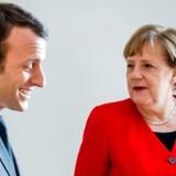 »Flere af de iagttagere, der peger på Macron som den helt store vinder af dette års topjobkabale, er samtidig enige om, at den store taber ikke bare er Merkel ...«