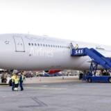 Arkiv. SAS-fly i Københavns Lufthavn.