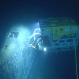 Et fjernstyret norsk fartøj har taget nye billeder af ubåden Komsomolets.