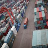 Der bliver skibet færre kinesiske varer til udlandet, og det hæmmer Kinas økonomi. (Arkivfoto) Kim Hong-Ji/Reuters