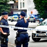 Onsdag aften blev alle indbyggerne i Forsheda bedt om at holde sig indendøre, mens massive politistyrker troppede op i deres by. De var på jagt efter en bevæbnet mand. Billedet her er taget i Malmø 18. juni 2018.