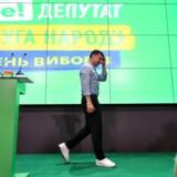 Det ukrainske folk har talt, og med en stor sejr til Netflix-præsident Volodymyr Selenskijs ved søndagens parlamentsvalg, lyder beskeden: De er trætte af både politikere og politik.