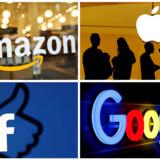 Det amerikanske justitsministerium vil indlede en undersøgelse af en række amerikanske techgiganter. Det kommer med stor sandsynlighed til at ramme virksomheder som Amazon, Apple, Facebook og Google.
