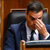 Spaniens fungerende premierminister, Pedro Sanchez. d. 25 juli 2019.