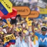 Quintana angreb de sidste overlevende fra dagsridtet med 26 km igen og så sig ikke tilbage.