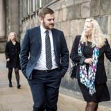 Dansk Folkepartis Jeppe Jakobsen røg ud af Folketinget efter valget i juni. Nu vil han i stedet være pædagog. Arkivfoto: Thomas Lekfeldt/Ritzau Scanpix