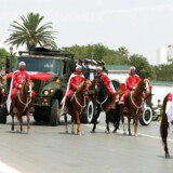 Den afdøde præsident Beji Caid Essebsi fik lørdag en statsmandsbegravelse i Tunesien. - Foto: Zoubeir Souissi/Reuters