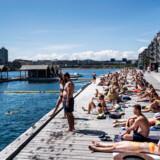 Når solen er fremme, er træpromenaden ved Nordhavn badezone sort af badegæster. Det samme gjorde sig gældende i sidste års sommervarme, hvilket medførte en del gener for beboerne i lokalområdet. Noget kunne dog tyde på, at generne er væsentligt mindre i år.