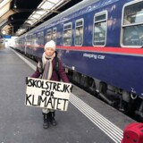 Greta Thunberg har flere gange rejst Europa rundt med tog for at holde sine opildnende klimataler. Men nu skifter hun transportmidlet ud.