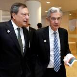 Bortset fra præsident Trump har ingen større magt over danskernes samlede privatøkonomi end Mario Draghi, chefen for Den Europæiske Centralbank, og Jerome Powell, chefen for den amerikanske Federal Reserve. De svinger taktstokken over økonomierne og de finansielle markeder.