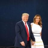 Præsident Donald Trump og USAs førstedame Melania Trump kommer på statsbesøg i Danmark 2. og 3. september. Og besøget betyder noget for den amerikanske præsident. (Foto: MANDEL NGAN/Ritzau Scanpix)