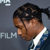"(FILES) In this file photo taken on October 29, 2016, recording artist ASAP Rocky attends the LACMA Art + Film Gala at the Los Angeles County Museum of Art in Los Angeles. - US President Donald Trump said on July 19, 2019, the White House was in touch with Sweden over the controversial jailing of rapper ASAP Rocky. A Stockholm court on Friday ordered the Harlem rapper to stay in custody in Sweden for another week while an investigation is completed into an alleged assault during a street brawl. ""I have been called by so many people asking me to help ASAP Rocky, "" Trump told journalists in the Oval Office. (Photo by DAVID MCNEW / AFP)"