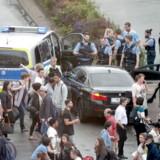 Politiaktion ved Frankfurt hovedbanegård d. 02 august 2019.