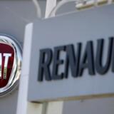 Fiat Chryslers adm. direktør, Mike Manley, inviterer Renault og Nissan til igen at sætte sig ved forhandlingsbordet for at diskutere mulig fusion. Foto: Eric Gaillard/Reuters/Ritzau Scanpix