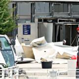 Oprydningsarbejdet efter eksplosionen ved Skattestyrelsen i København blev påbegyndt onsdag, efter at politiet var færdige med indsamlingen af tekniske beviser.