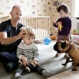 Ifølge tal fra Danmarks Statistik bor 1.262 børn dog med en enlig far, hvor moren ikke er registreret, men det er uvist, om det er homoseksuelle singlefædre. Tallet for kvinder er 12 gange højere.