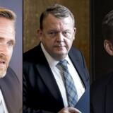 Anders Samuelsen, Lars Løkke Rasmussen eller Kristian Thulesen Dahl. Hvem har skylden for sammenbruddet i blå blok, spørger Bent Winther.