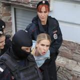 Ljubov Sobol blev senest anholdt 10. august tæt på hendes kontor i Moskva.