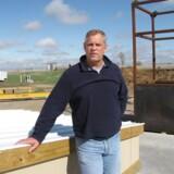 »Jeg redder liv,« siger Larry Hall, der her står oven på en tidligere missilsilo i Salinas i delstaten Kansas, der nu er omdannet til en underjordisk bunker.