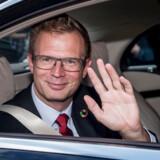 Transportminister Benny Engelbrecht ankommer til præsentationen af den nye S-regering på Amalienborg i København, torsdag den 27. juni 2019. (Arkivfoto).