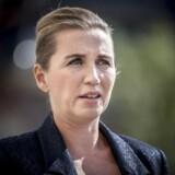 Statsminister Mette Frederiksen holdt onsdag eftermiddag pressemøde om Trumps afbud ved Eigtveds Pakhus. »Invitationen om større strategisk samarbejde står åben,« lød det fra statsministeren.