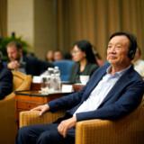 Huawei-direktør Ren Zhengfei kalder mobilproducentens nuværende situation for en »kamp«, hvor det gælder »liv eller død«. Direktøren er kendt for at bruge militærudtryk, når han kommunikerer med sine ansatte. Foto: REUTERS/Aly Song