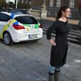 Ninna Hedeager Olsen fotografet foran Københavns rådhus i oktober sidste år.