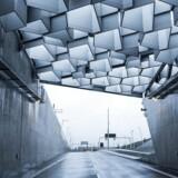 Den fantastiske og fraktale dagslysskærm er et af Nordhavnsvejs højdepunkter.