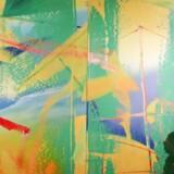 Gerhard Richters »Gelbrun« på Sotheby's i januar 2018. Richter har ligget stabilt i toppen af Kunstkompass-listen i de seneste ti år.