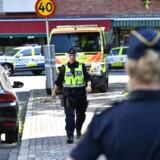 Den svenske regering lover, at alle tilgængelige ressourcer bliver sat ind på at finde gerningsmændene til et brutalt drab på en kvinde med en baby på armen mandag formiddag på åben gade i Malmø.