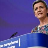 Teknologigiganterne er »som robotstøvsugere«, siger EUs konkurrencekommissær Margrethe Vestager, som efter en klage nu ser på Googles jobsøgningstjeneste. Arkivfoto: John Thys, Ritzau Scanpix