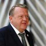 »Jeg erkender, at der er uro i partiet, og det kommer ikke af ingenting,« siger Løkke i TV2's aftenudsendelse Go' aften live.