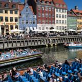 Nyhavn er et af de mest besøgte steder i København.