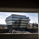 Purdue Pharmas hovedkvarter i Stamford, Connecticut, lige uden for New York City. Medicinalselskabet har tjent ufatteligt mange penge på at sælge det smertestillende og vanedannende middel OxyContin.