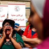 »Israa Gharibs tragiske død viste os, at middelalderagtige værdier eksisterer i Mellemøsten,« skriver Ali Aminali. Foto af palæstinensiske kvinder, der demonstrerer for kvinders rettigheder i Ramallah efter Israa Gharibs død.