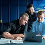 De tre stiftere har alle en fortid i virksomheder, som har oplevet stor vækst. Fra venstre: Lars Grønnegaard, Ole Dallerup og Steffen Hedebrandt.